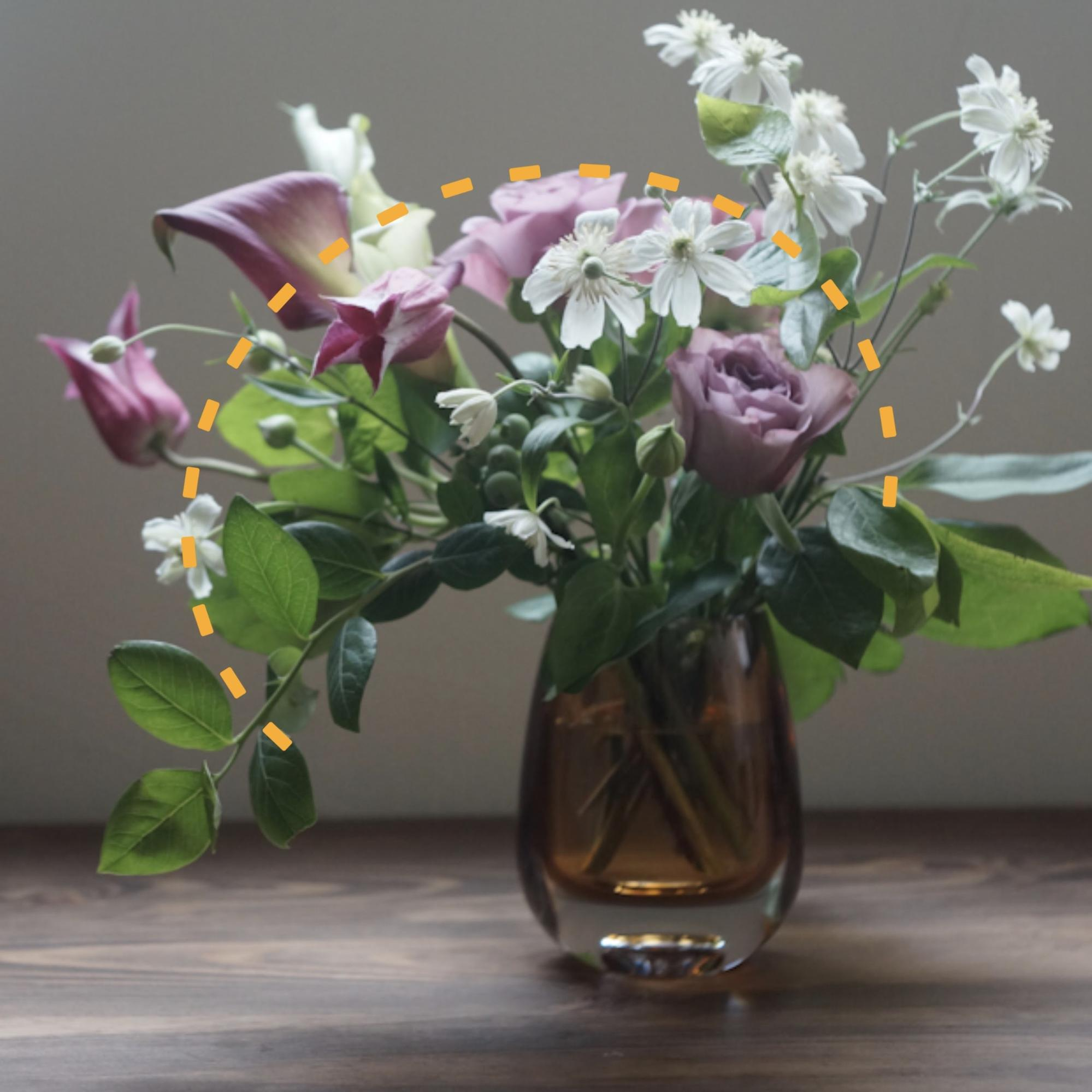 mimi・花の個性とバランスを楽しむ