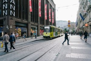 Gaku・ヘルシンキ市内を巡る