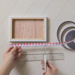 お部屋に写真を・写真の飾り方・木製パネルを飾る