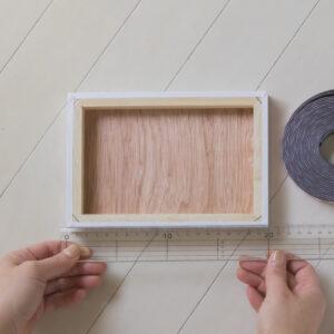 お部屋に写真を・写真の飾り方・木製パネルのマグネット加工